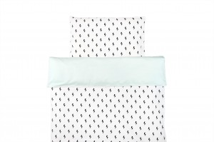 Duvet cover Lighting Bolts With Pastel Mint (1)
