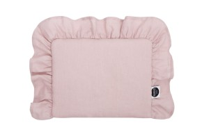 Newborn pillow with frill
